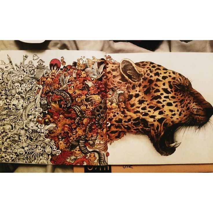 Animorphia An Extreme Coloring Book