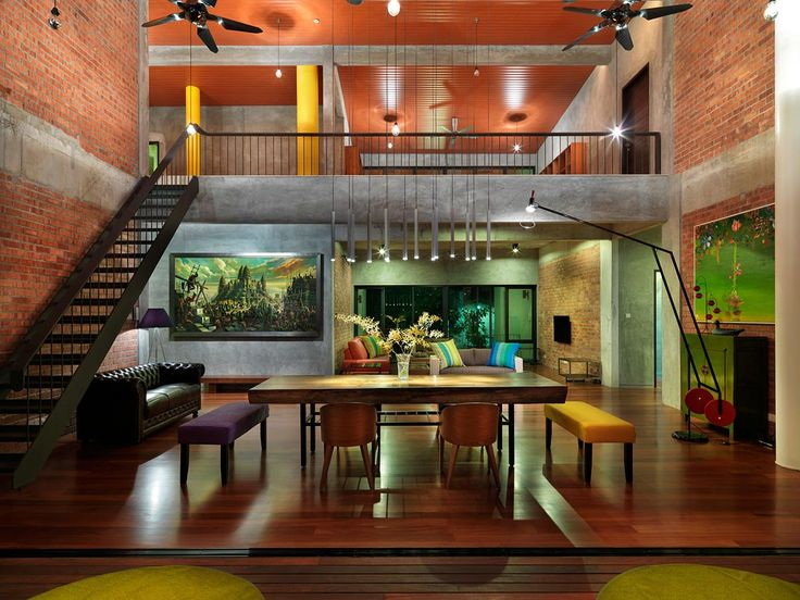 Dining Space Lighting S11 House In Selangor Malaysia By ArchiCentre