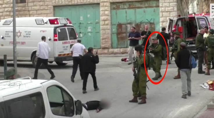 Published time: 24 Mar, 2016 14:38Edited time: 24 Mar, 2016 15:11 Get short URL © btselem / YouTube 1.3K1 Shocking footage has emerged online apparently showing an Israeli soldier executing a woun… http://winstonclose.me/2016/03/25/blood-chilling-video-idf-soldier-seen-shooting-injured-palestinian-attacker-written-by-rt/