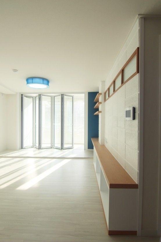 부부와 아이가 사는 26평 아파트 리모델링  거실, 거실 아이디어 ...