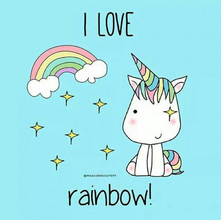 I love rainbow ❤