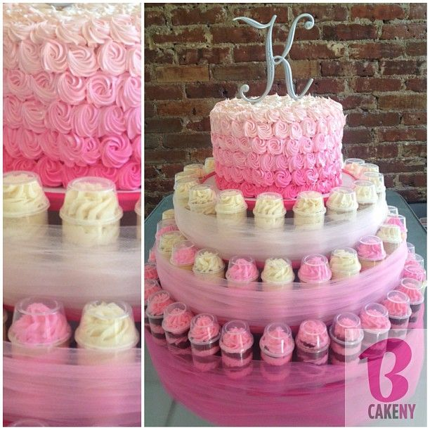 Cake & Push Pop Cake Stand! #lovepink - @bcakeny