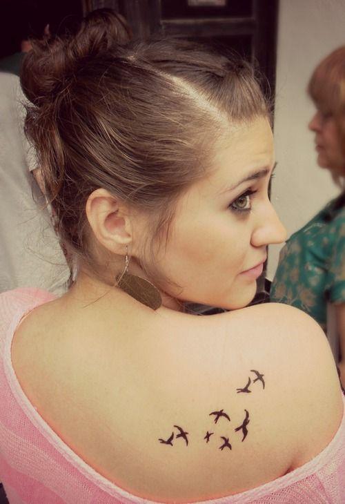 Little Flying Bird Tattoos On Back Shoulder Little Flying Bird Tattoos Bird Tattoo Back Flying Bird Tattoo Shoulder Tattoo Quotes