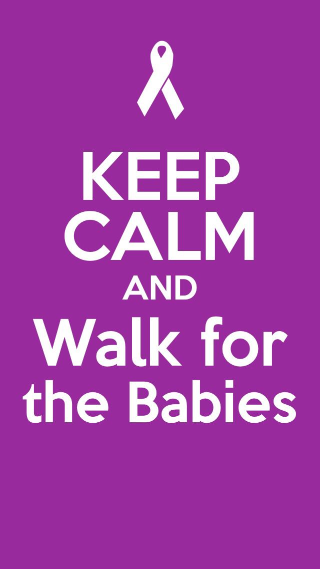 I'm going to walk every year for my son he came 3 months early 27 weeks pregnant.. 2lbs 1 ounce. He is my miracle:)