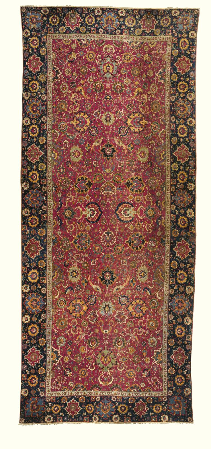 A Safavid carpet, Isphahan, Central Persia