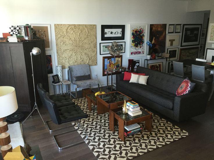 New floors at Casa Levine. Toronto apartment.