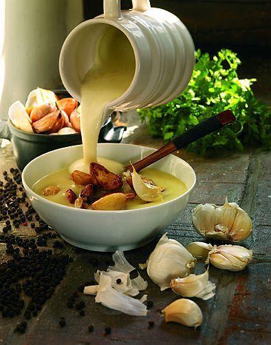 Polish Garlic Soup Recipe