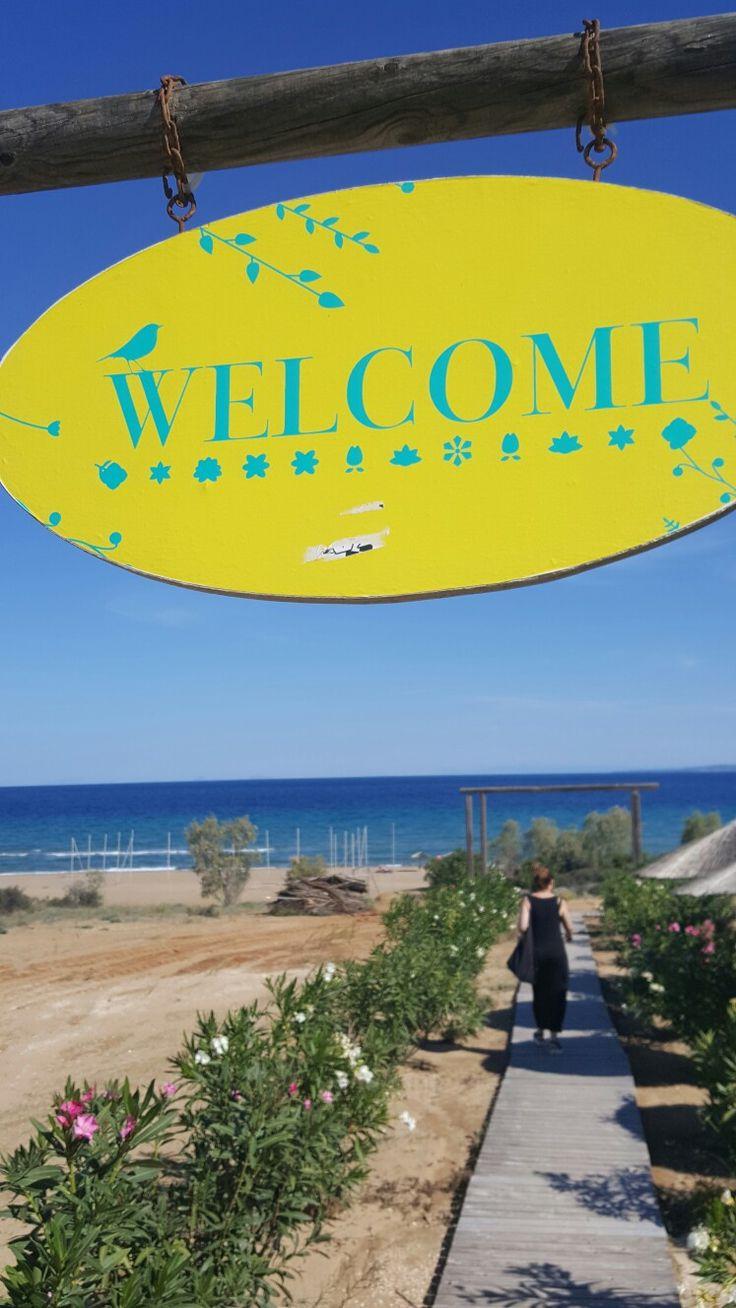 Banana Baya Beach Bar Zakynthos Greece