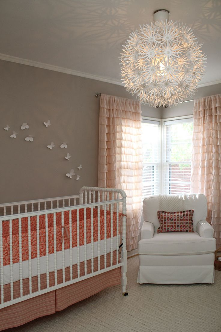 Ave's Neutral + Coral Nursery