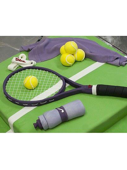 Tennis Cake....cool