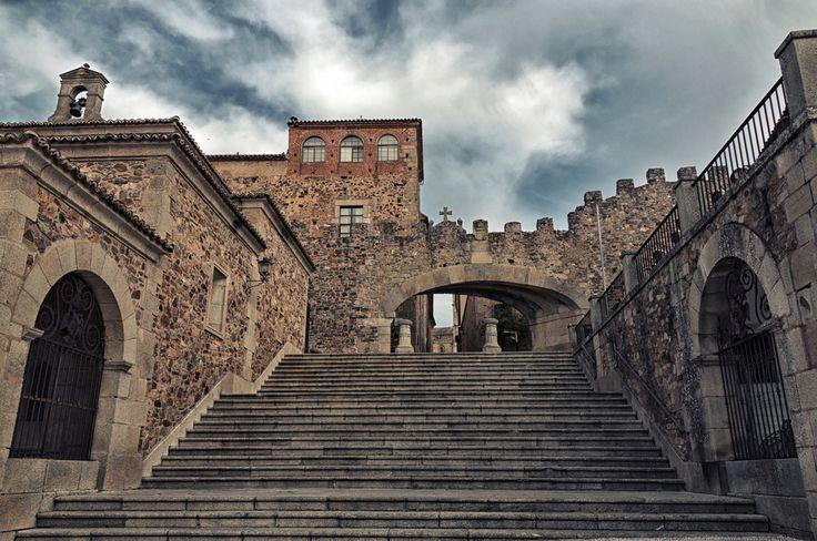 Arco de la Estrella, Cáceres en Cáceres, Extremadura