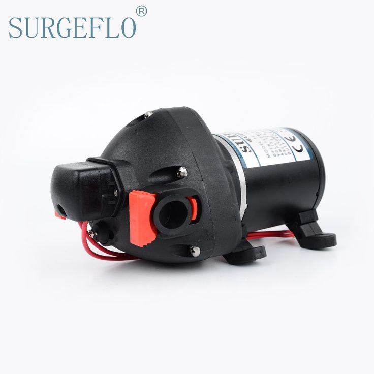 SURGEFLO 12V 24V DC High Pressure Mini Electric Water Pump  Automatic Diaphragm Pump Car Yachts Use FL-703 FL-706