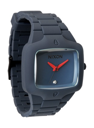 Nixon rubber player--gunship blue