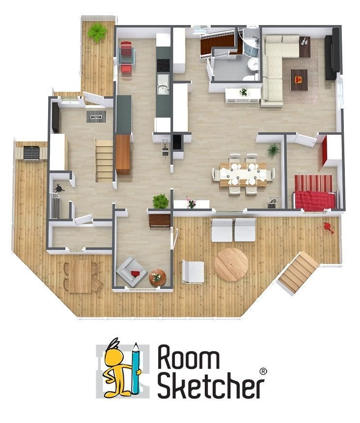 Can You Find The Watering Can On This 3d Floor Plan Need Floor Plans For