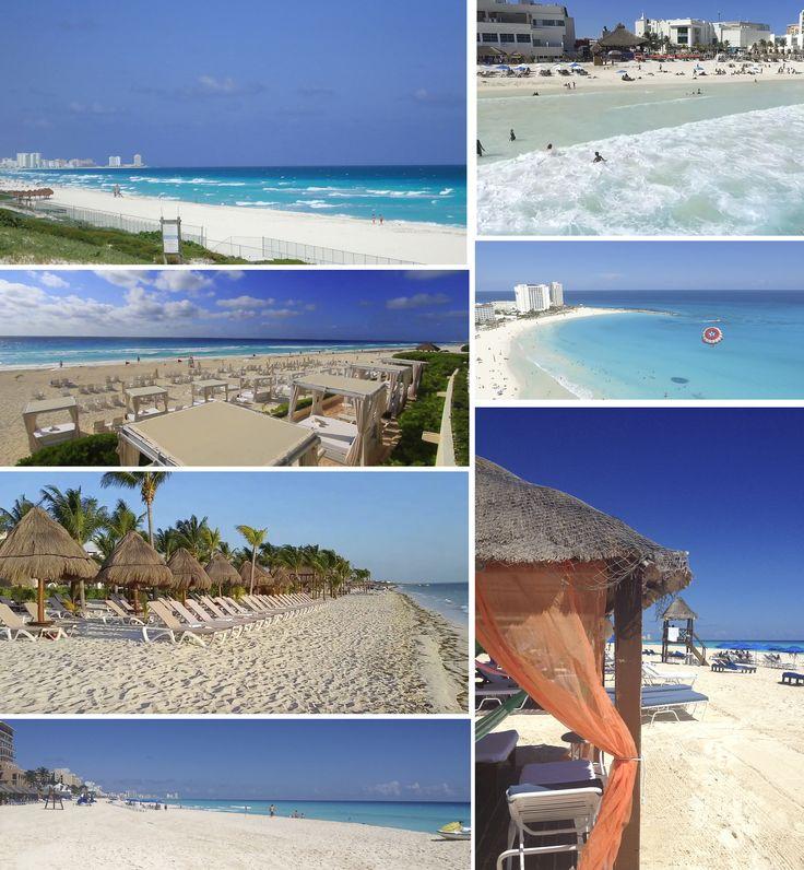 CANCUN Cancún es una pequeña isla con una hermosa laguna rodeada de una franja de fina arena blanca bañada por el Mar Caribe. Tiene un clima tropical con 250 días soleados al año