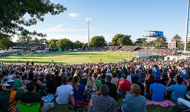 Hamilton,New Zealand. Capacity : 10,000 Day-2. February 15,2015 Fixtures South Africa v Zimbabwe