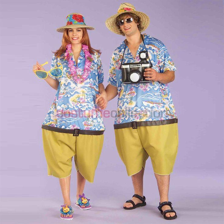 Hawaiian Tropical Tourist Couples Costume @kaylando yes…. but no