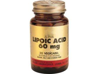 L'Acido alfa lipoico (ALA) è un potente promotore del glutatione ed è un altamente antiossidante disponibile come integratore alimentare.