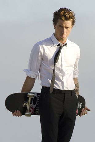 "From a Buzzfeed article: ""Have You Seen Shaun White Lately""   Well now I have...and boy looks good."