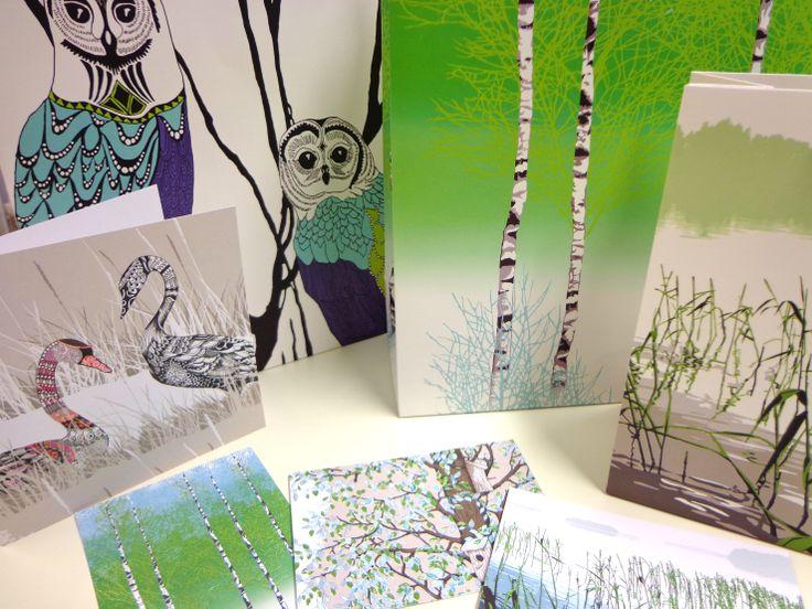 Vallila & Karto gift cards / bags