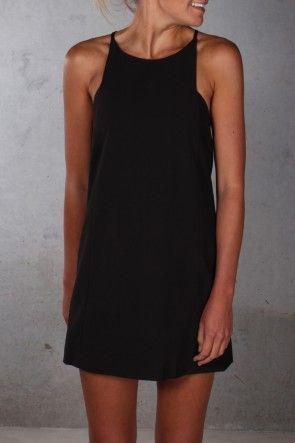 Hallie May Dress Black