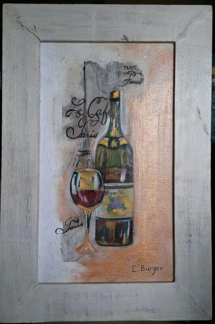 Red wine in Paris