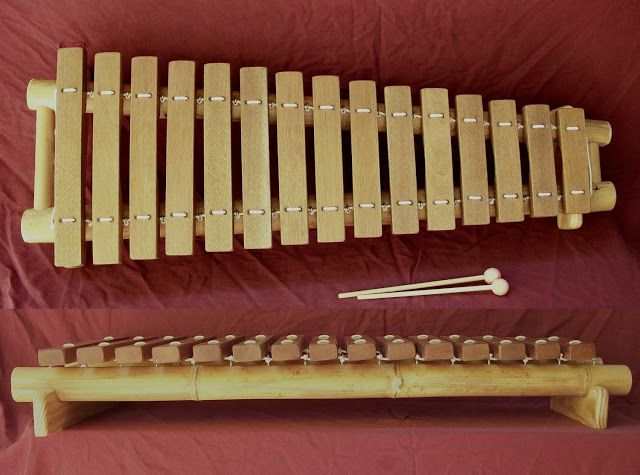 How To Make A Bamboo Xylophone Con Im 225 Genes Muebles De