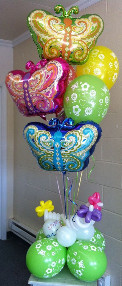 Best balloon bouquets images on pinterest balloons