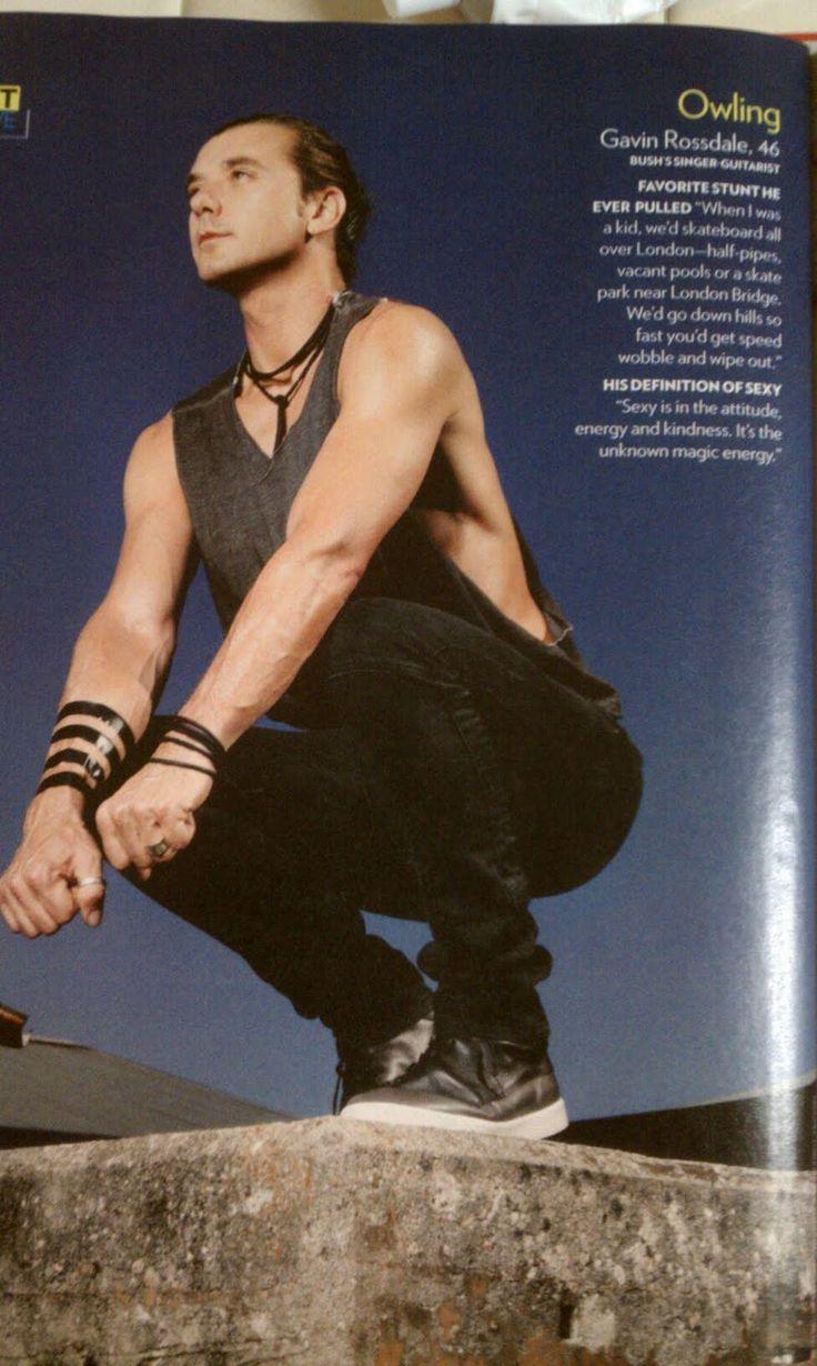BUSH- Gavin Rossdale-2011: Gavin Rossdale in People Magazine