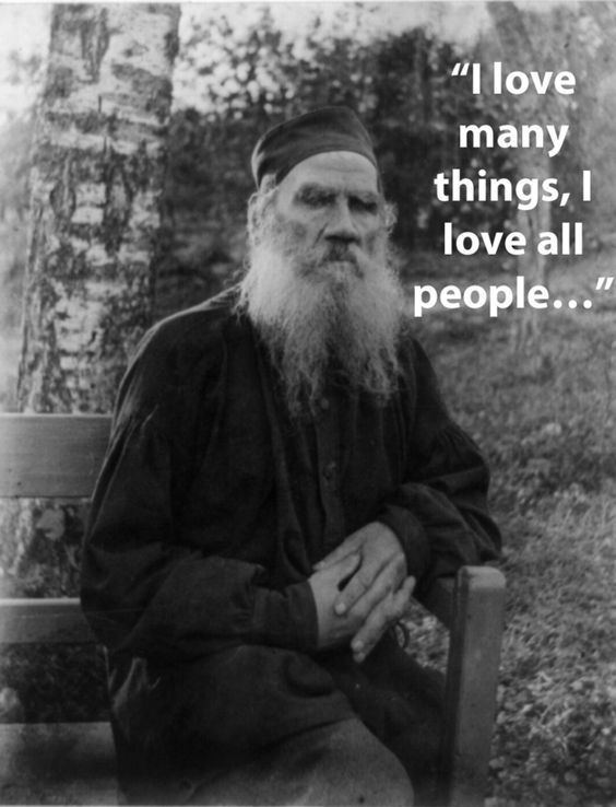 Dying words of Leo Tolstoy