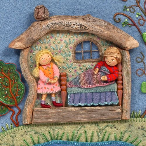 Seven Impossible Things Before Breakfast » Blog Archive » Some Impossibly Beautiful NeedleworkBefore Breakfast: Interview with IllustratorSalley Mavor (the Winter Blog Blast Tour Edition)