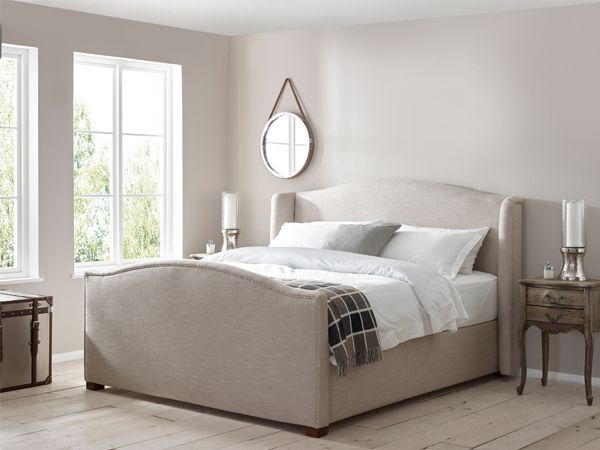 Harper Studded Bed Emperor Bed | The English Bed Company