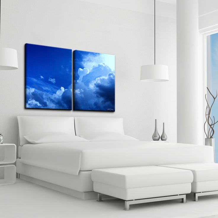 Christopher Doherty 'Clouds' Canvas Wall Art (2 Piece)