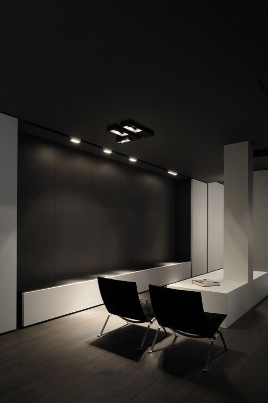 Minus U003c Interieurarchitecten U0026 Interieurinrichters U003e · Office DesignsOffice  IdeasModern InteriorBlack Interior DesignMinimalist ...