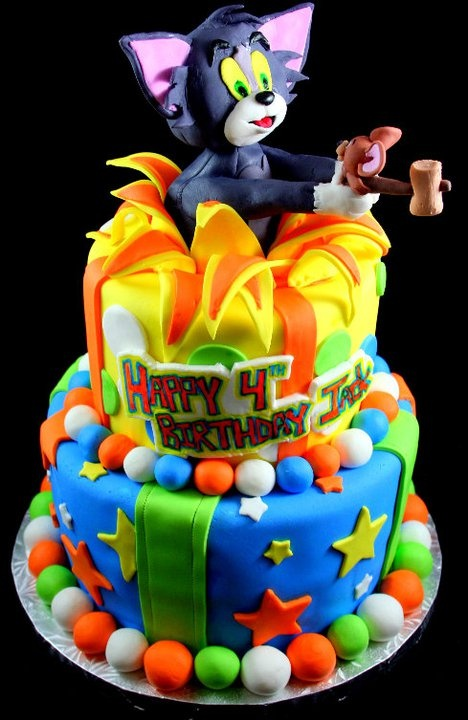 39 best Tom and Jerry cake images on Pinterest Fondant cakes Tom