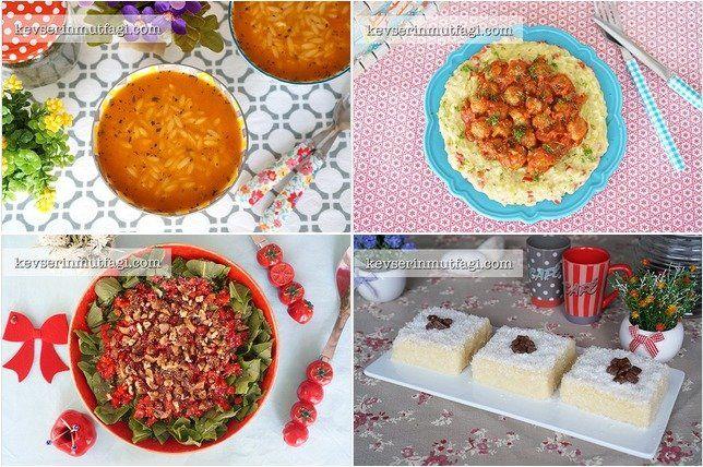 Günün Menüsü 11 Ocak : Sütlü Şehriye Çorbası Tarifi, Köfteli Kabak Beğendi Tarifi, Közlenmiş Biberli Roka Salatası Tarifi, Sütlü İrmik Tatlısı Tarifi - Bugün ne pişirsem, Yemek Menüsü, Akşam Yemeği Menüsü, Davet Sofrası, Akşama Ne Yapsam