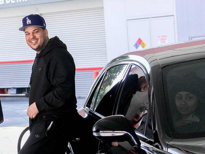 Rob Kardashian Gets His Pump On for Blac Chyna | TMZ.com