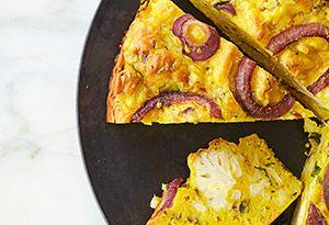 Cauliflower Cake Recipe - Yotam Ottolenghi - Oprah.com