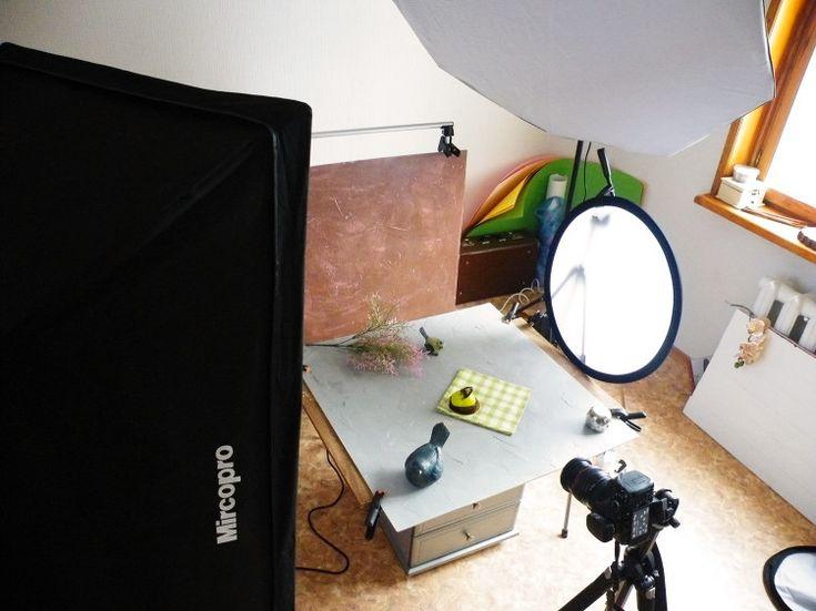 За кадром. Backstage — Снова пирожные. Искуственный свет. Иммитация дневного света | artlab.club