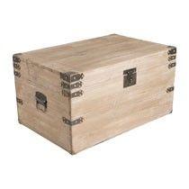 Sloophouten kist - 67x45x36 cm