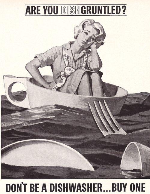 PG Dishwasher Ad 1962