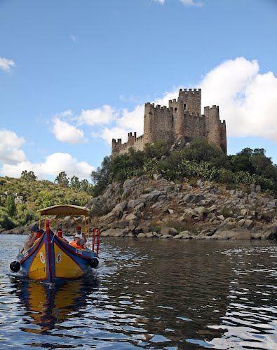 Castelo de Almourol, Praia do Ribatejo - Vila Nova da Barquinha