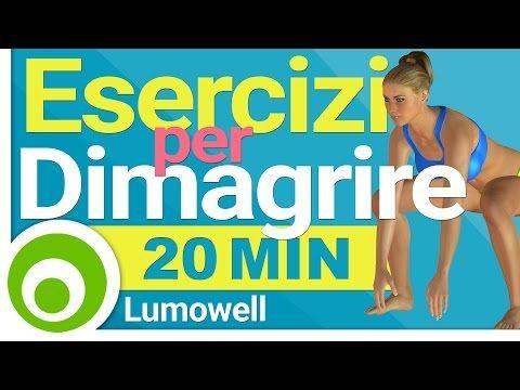 Esercizi per Dimagrire - YouTube