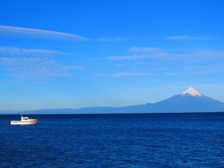 Playa. Puerto Varas, Chile