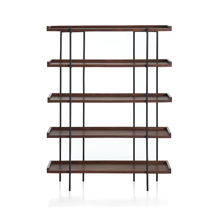 Beckett 5-High Shelf Sable | Crate and Barrel  – Atlar