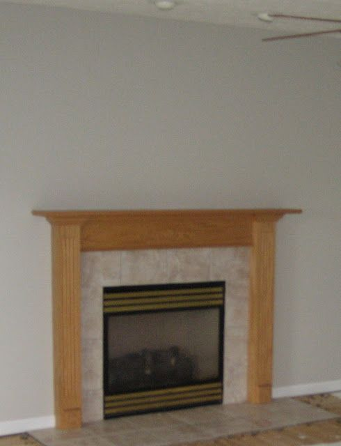 Chic on a Shoestring Decorating: Cheap & Easy Fireplace Makeover