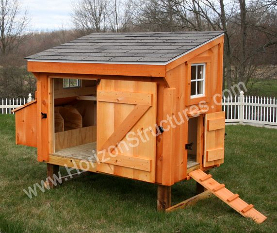 chicken coops designs | few thousand dollars to drop on having an Amish-assembled chicken coop ...