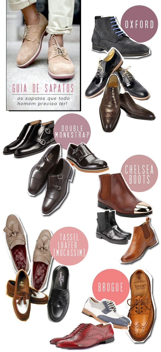 guia-sapatos-brogue-oxford-double-monkstrap-chealsea-boot-tassel-loefer-mocassim-caio-braz-moda-masculina