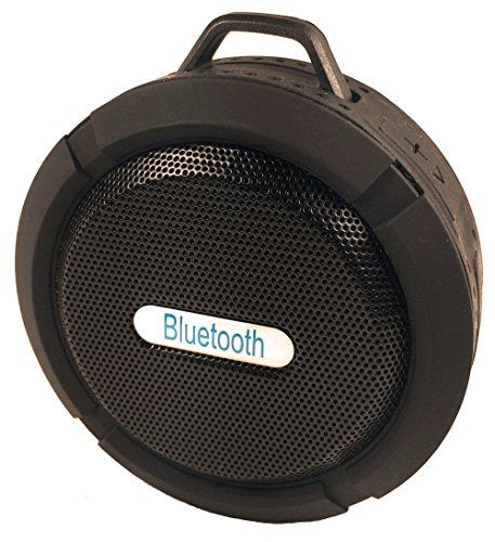 Portable Bluetooth Wireless Waterproof Speakers. Use in the Shower, Hot Tub and Pool - Excellent for Outdoor use - Sync with your iPhone or Android device - Portable Bluetooth Waterproof Speaker Take quality audio with you wherever you go with our bluetooth waterproof speaker. Enjoy high quality audio from your smartphone, tablet, laptop or pc. Use the built in TF/MicroSD Card port to have your music on hand while on the go. Make calls with the built...