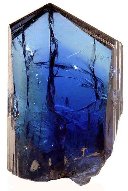 Tanzinite ... a stone that is the color of the Caribbean sea.